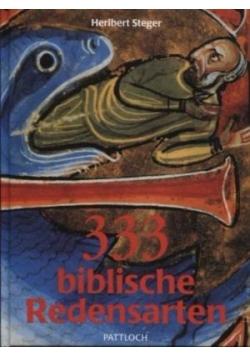 333 Biblische Redensarten