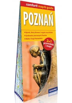 Poznań laminowany map&guide 2w1 przewodnik i mapa