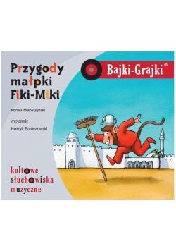 Bajki - Grajki. Przygody małpki Fiki-Miki CD