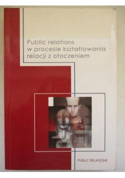 Public relations w procesie kształtowania relacji z otoczeniem
