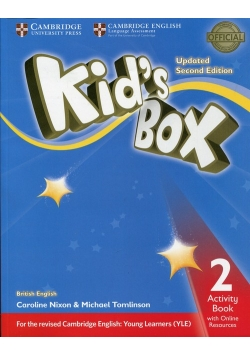 Kid's Box 2 Activity Book with Online Resources