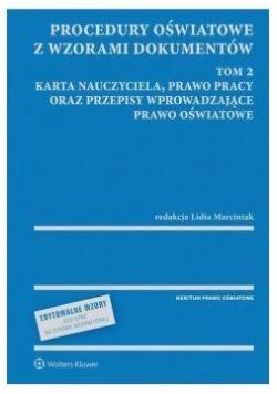 Procedury oświatowe z wzorami dokumentów T. 2