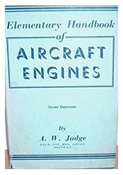Elementary handbook of aircraft engines