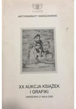 XX Aukcja książek i grafiki warszawa 21 maja 2005