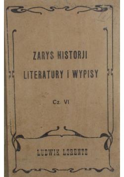 Zarys Historji Literatury i Wypisy  , 1917 r.