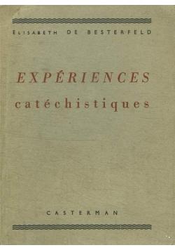 Experiences catechistiques, 1939 r.
