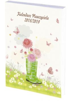 Kalendarz nauczyciela 2018/19 A5 tyg PCV bezbarwny BUTY