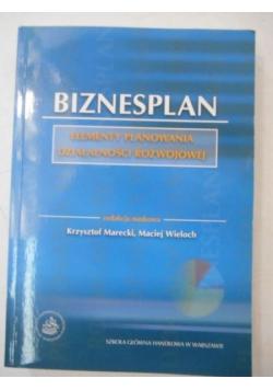 Biznesplan. Elementy planowania działalności rozwojowej