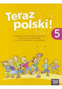 J.Polski SP 5 Teraz polski! Podr. NE