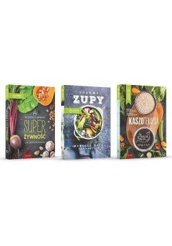 Pakiet: Kaszoterapia/Super Żywność/Zdrowe zupy