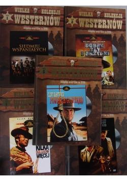 Wielka kolekcja Westernów, DVD 1-5