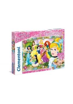 Puzzle SuperColor Jewel Puzzle Księżniczki 104