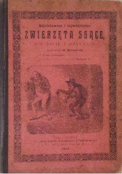 Najciekawsze i najważniejsze zwierzęta ssące, 1906r