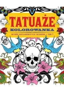 Tatuaże. Kolorowanka T.1