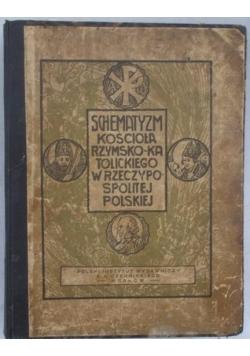 Schematyzm kościoła Rzymsko-Katolickiego w Rzeczypospolitej Polskiej,  1925 r.