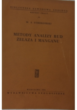 Metody analizy rud żelaza i manganu