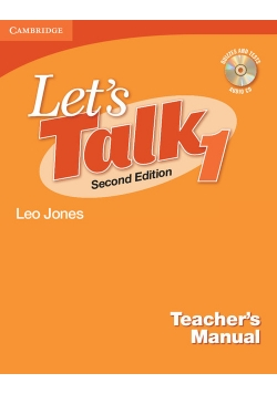 Let's Talk Level 1 Teacher's Manual + CD