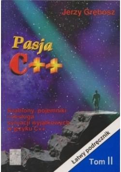 Pasja C++, szablony, pojemniki i obsługa sytuacji wyjątkowych w języku C++