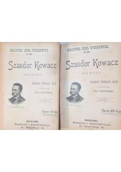 Szandor Kowacz Tom I-II, 1893r.