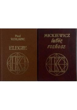 Miniaturki dwóch książek