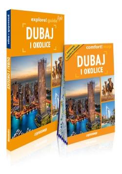 Dubaj i okolice Light przewodnik + mapa