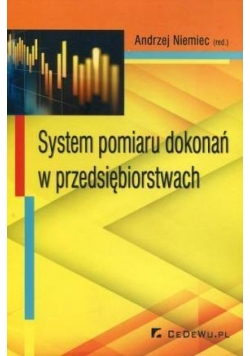 System pomiaru dokonań w przedsiębiorstwach