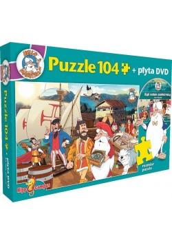 Byli sobie podróżnicy - puzzle+DVD