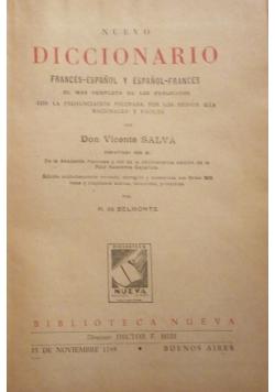 Nuevo diccionario Espanol- Frances
