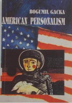 American Personalism