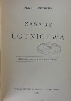 Zasady lotnictwa, 1911 r.