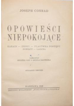 Opowieści niepokojące, 1939 r.