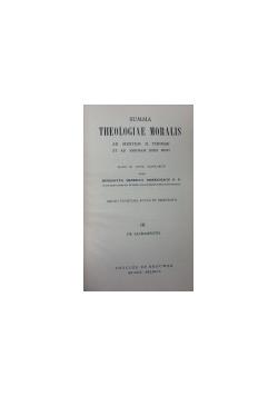 Summa Theologiae Moralis Tom II