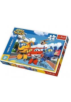 Puzzle 24 Maxi Wesołe samoloty TREFL