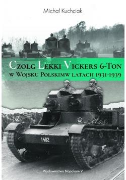 Czołg lekki Vickers 6-Ton w Wojsku Polskim w latac