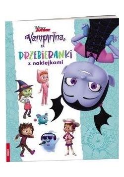 Vampirina. Przebieranki z Naklejkami