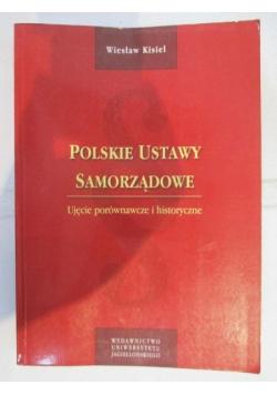 Polskie ustawy samorządowe