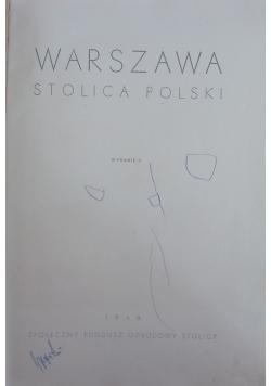 Warszawa - stolica polski,1949r.
