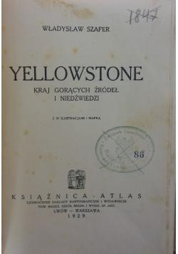 Yellowstone kraj gorących źródeł i niedźwiedzi, 1929r