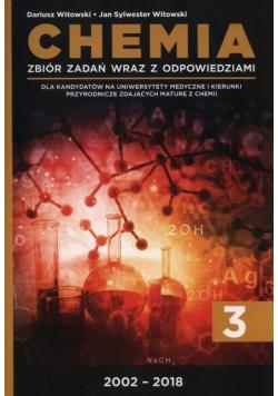 Chemia Tom 3 Zbiór zadań wraz z odpowiedziami 2002-2018
