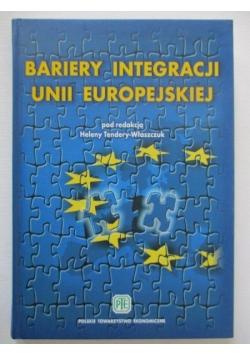 Bariery integracji Unii Europejskiej