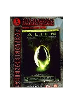 Nieziemska kolekcja filmowa  tom 2-Alien ,DVD