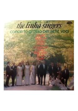 The linha singers. Concerto grosso per sette voci, płyta winylowa