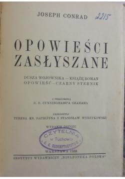 Opowieści zasłyszane, 1938r.