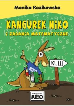Kangurek NIKO i zadania matematyczne dla klasy 3