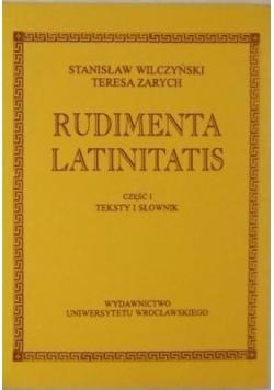 Rudimenta Latinitatis Część I