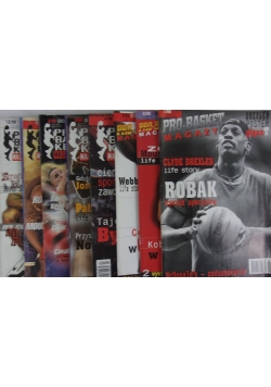 Pro - basket. Magazyn, 8 numerów