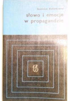 Słowo i emocje w propagandzie