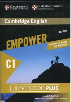 Cambridge English Empower Advanced Presentation Plus with Student's Book and Workbook
