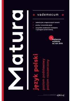 Vademecum matura Język polski 2018