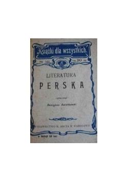 Literatura Perska  1908 r.